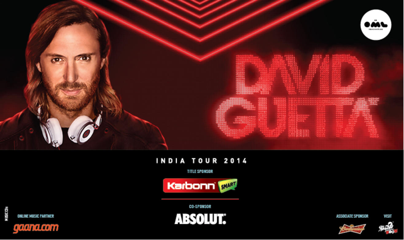 David Guetta India Tour, Bengaluru