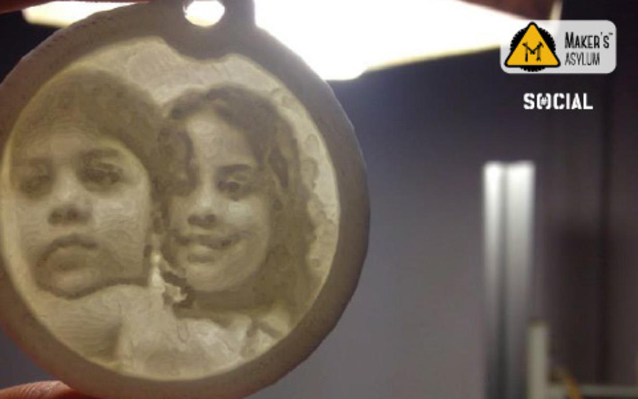 Father's Day Special: Memory on Lithophane