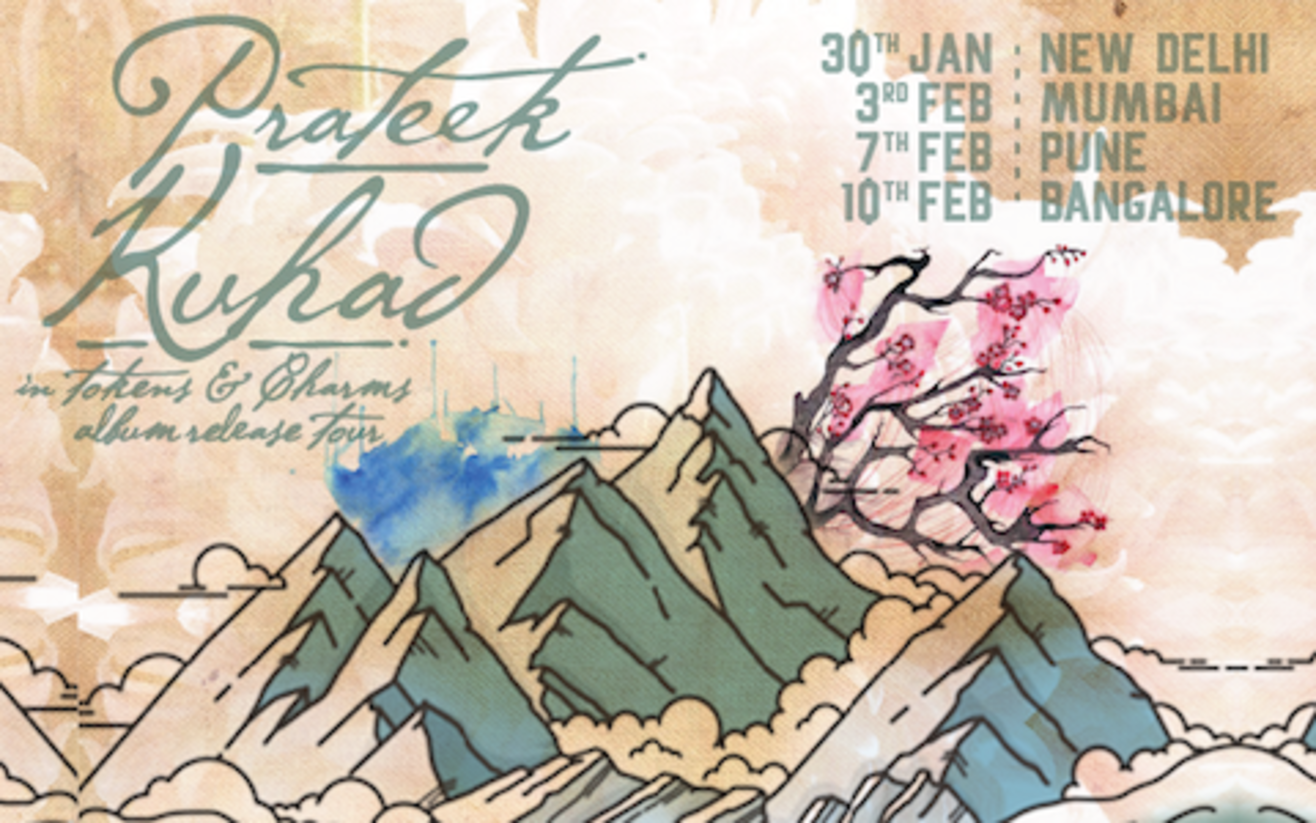 PRATEEK KUHAD 'IN TOKENS & CHARMS' ALBUM RELEASE TOUR, BANGALORE