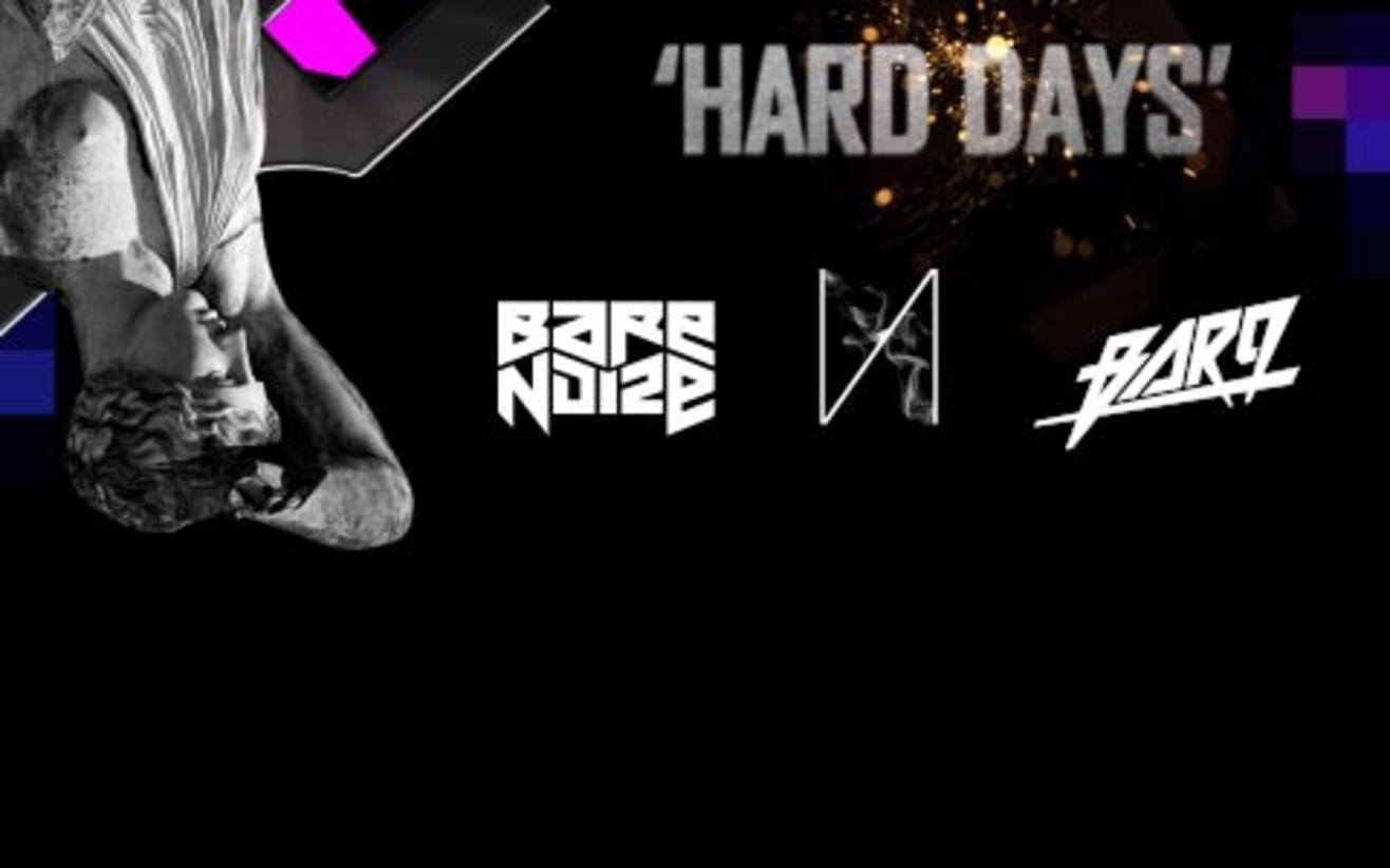 Lucid 'Hard Days' Featuring Bare Noize, Bar9 & Etnik