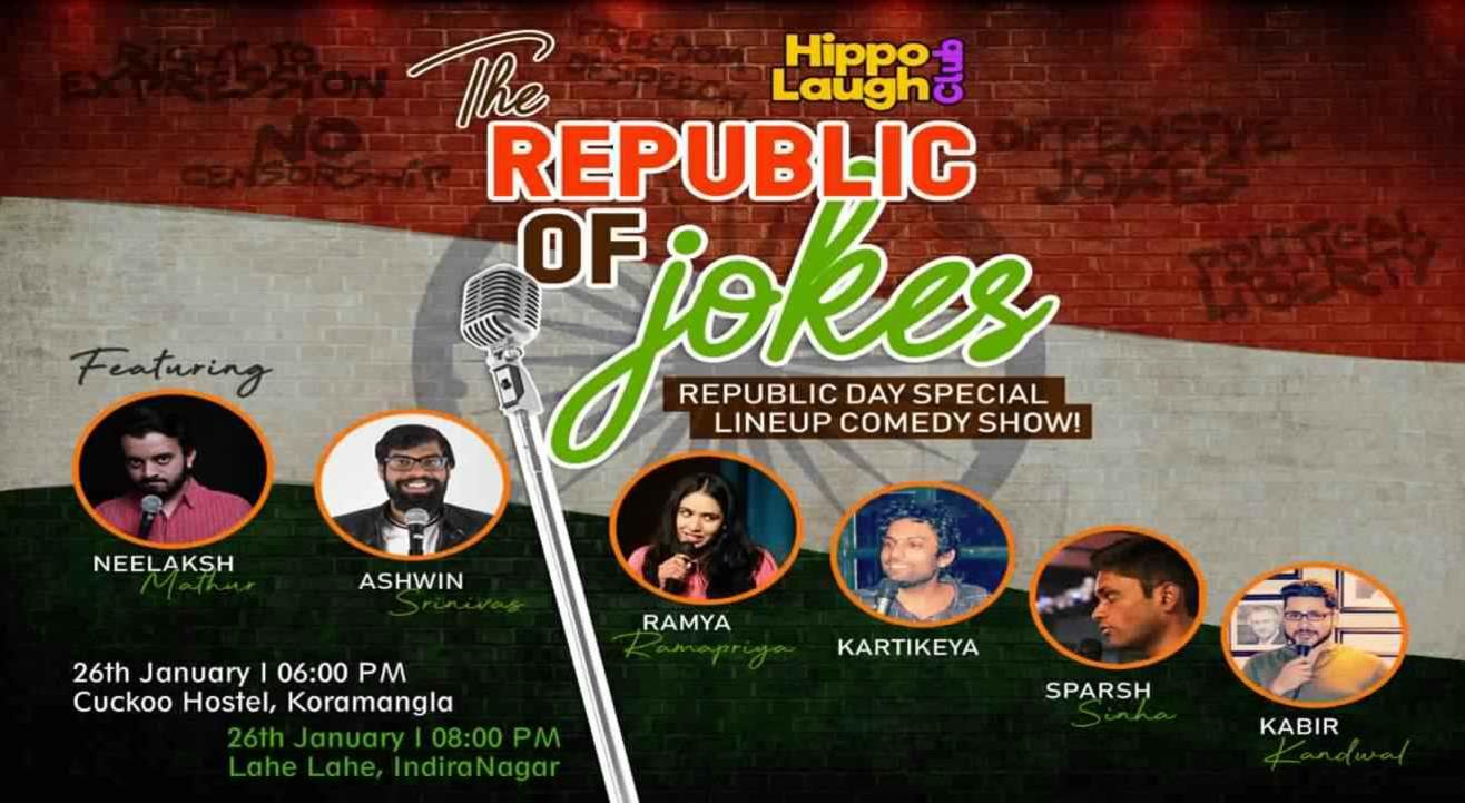The Republic of Jokes At Indiranagar