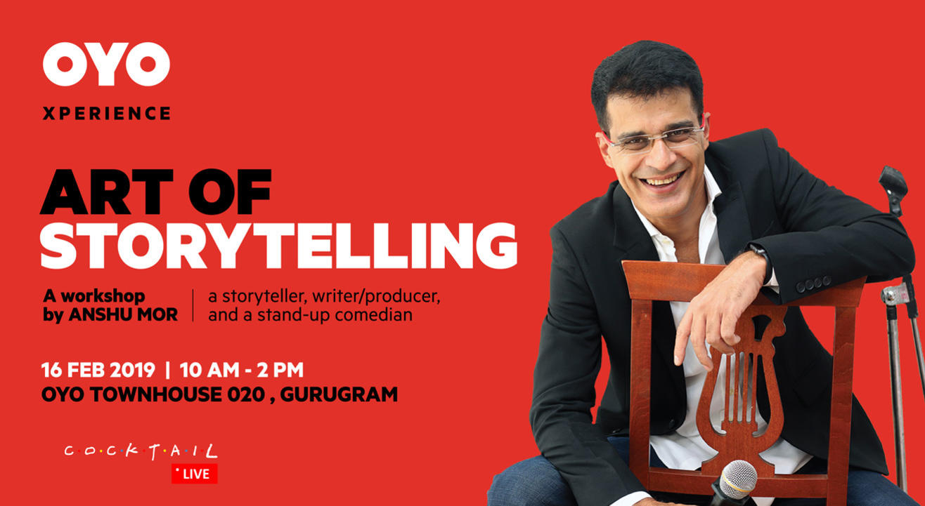 Art of Storytelling – a Workshop by Anshu Mor