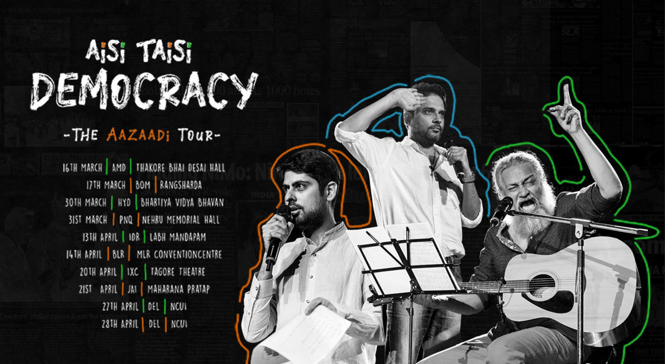 Aisi Taisi Democracy : The Aazaadi Tour 2019, Mumbai