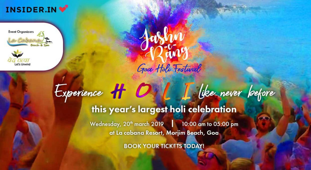 Jashn-e-Rang | GoaHoliFestival2019