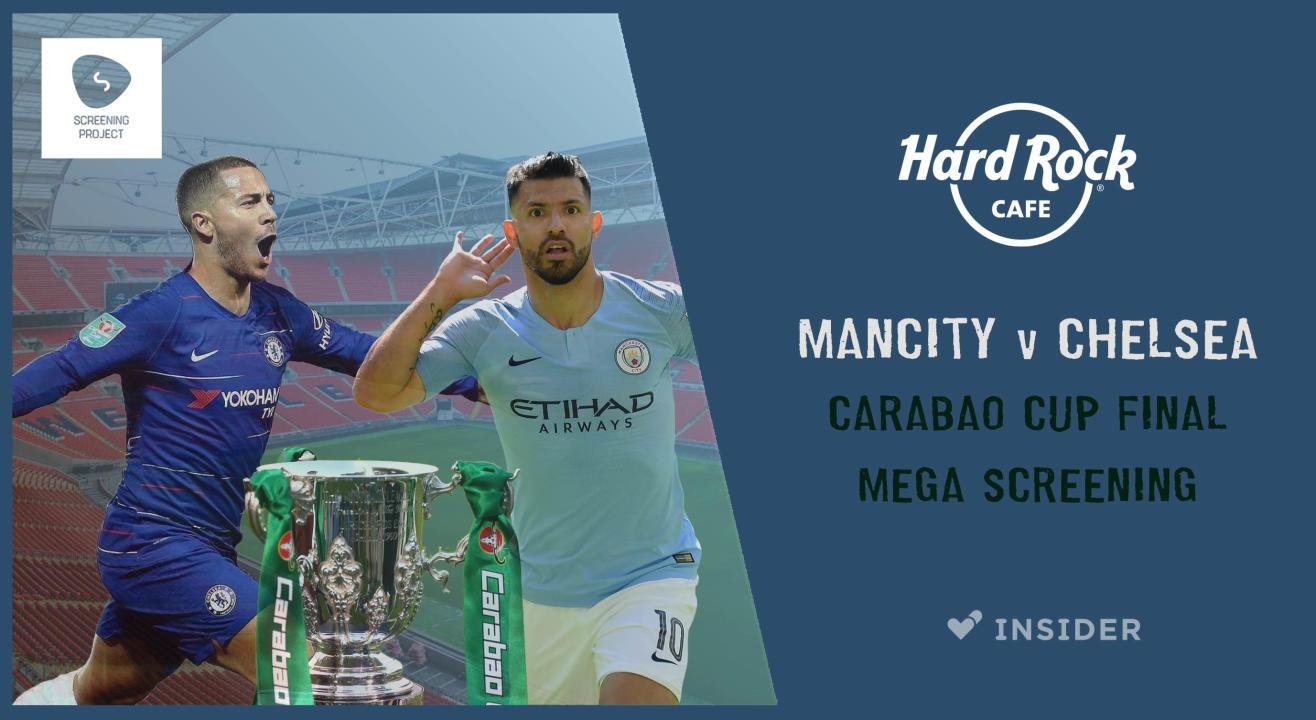 Mancity v Chelsea | Cup Final Mega Screening Bangalore