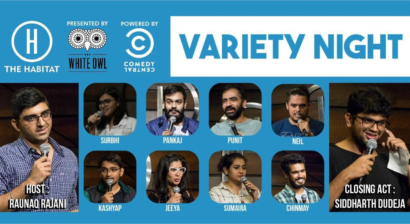 White Owl presents Variety Night at The Habitat