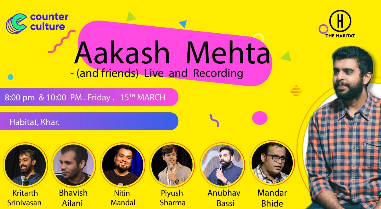 Aakash Mehta and Friends - Live and Recording
