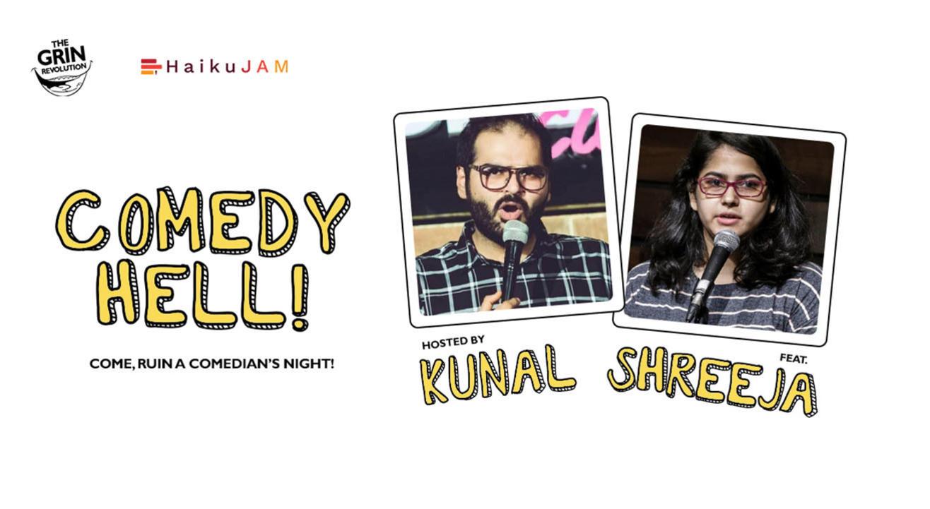 Grin Revolution: Comedy Hell w/ Kunal Kamra