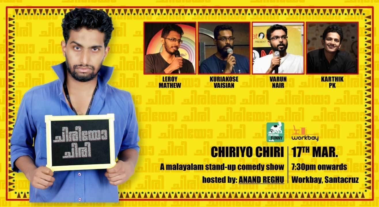Chiriyo Chiri - A Malayalam Stand-up Comedy Show