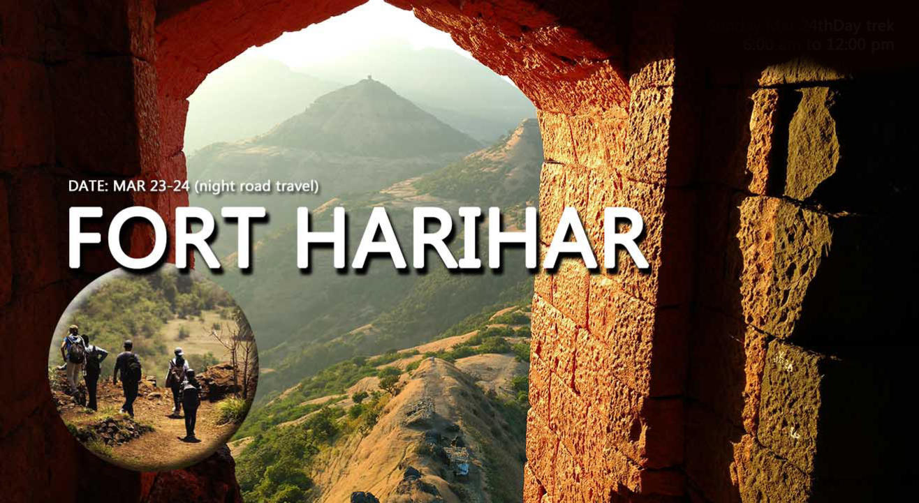Harihar Fort Trek