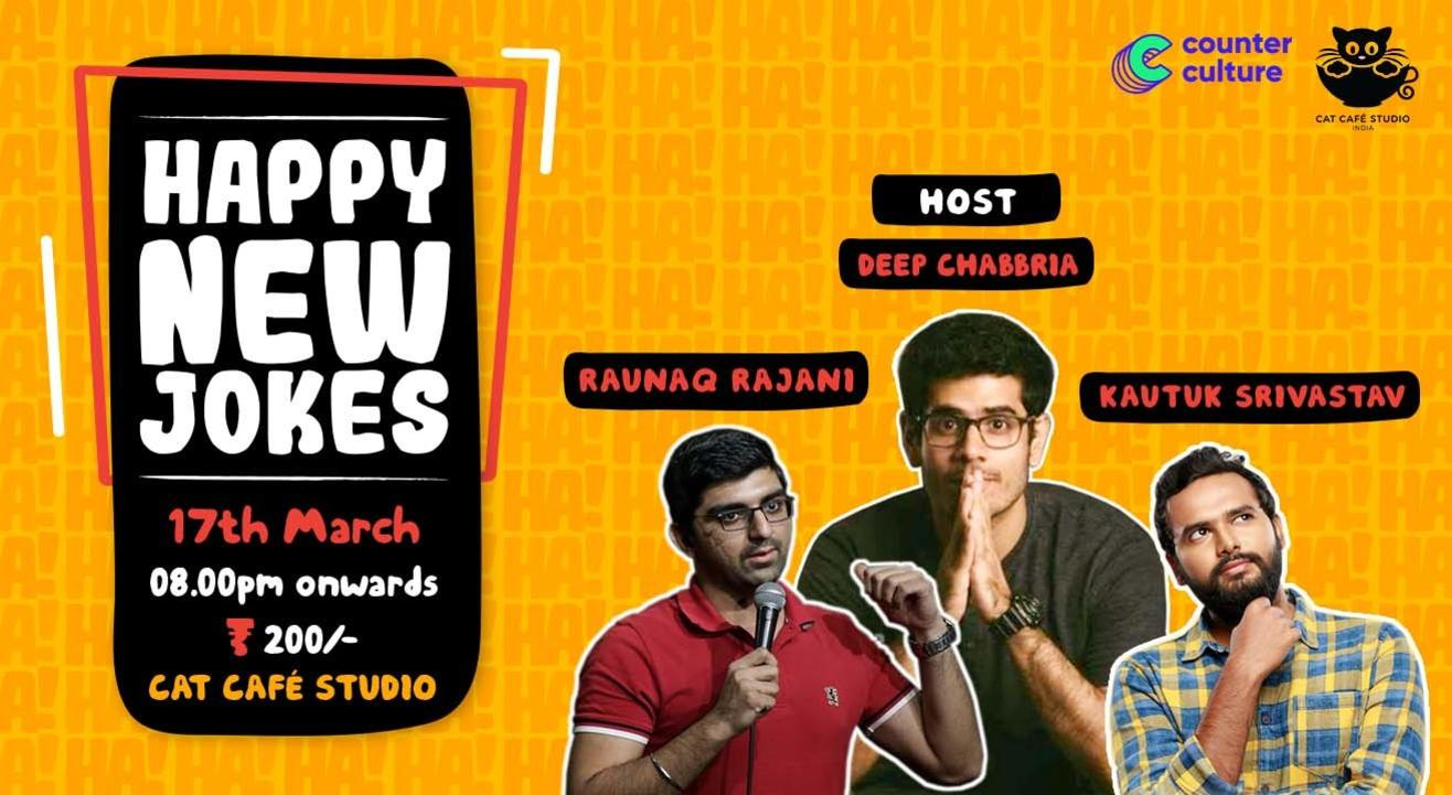 Happy New Jokes - A Stand Up Comedy Show