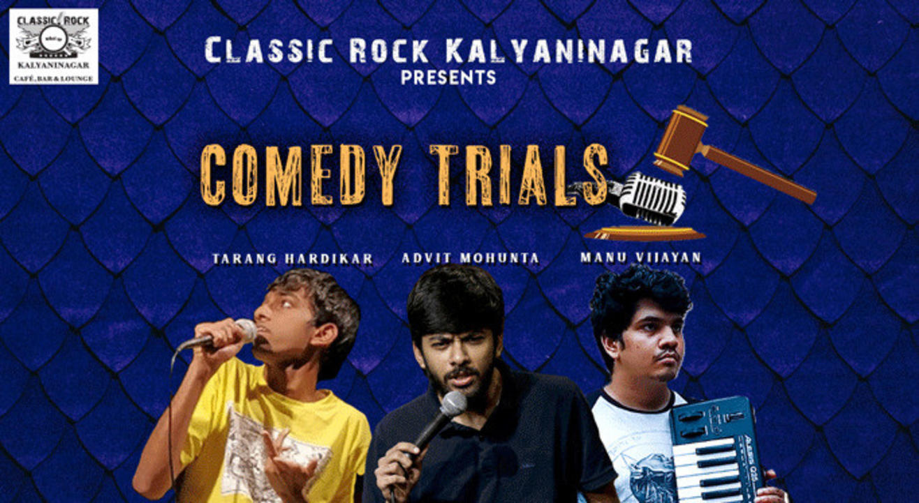 Comedy Trials Feat. Advit, Manu & Tarang