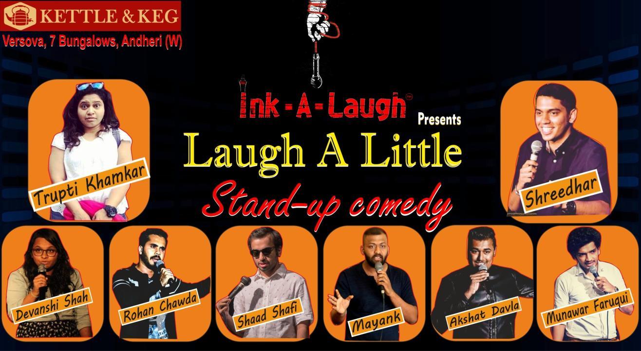 Ink-A-Laugh presents Laugh A Little