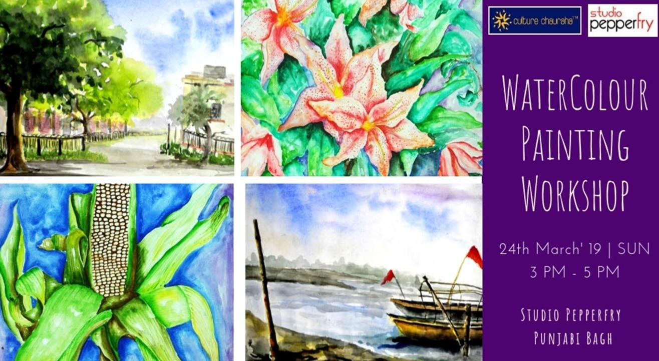 Watercolour Painting Workshop
