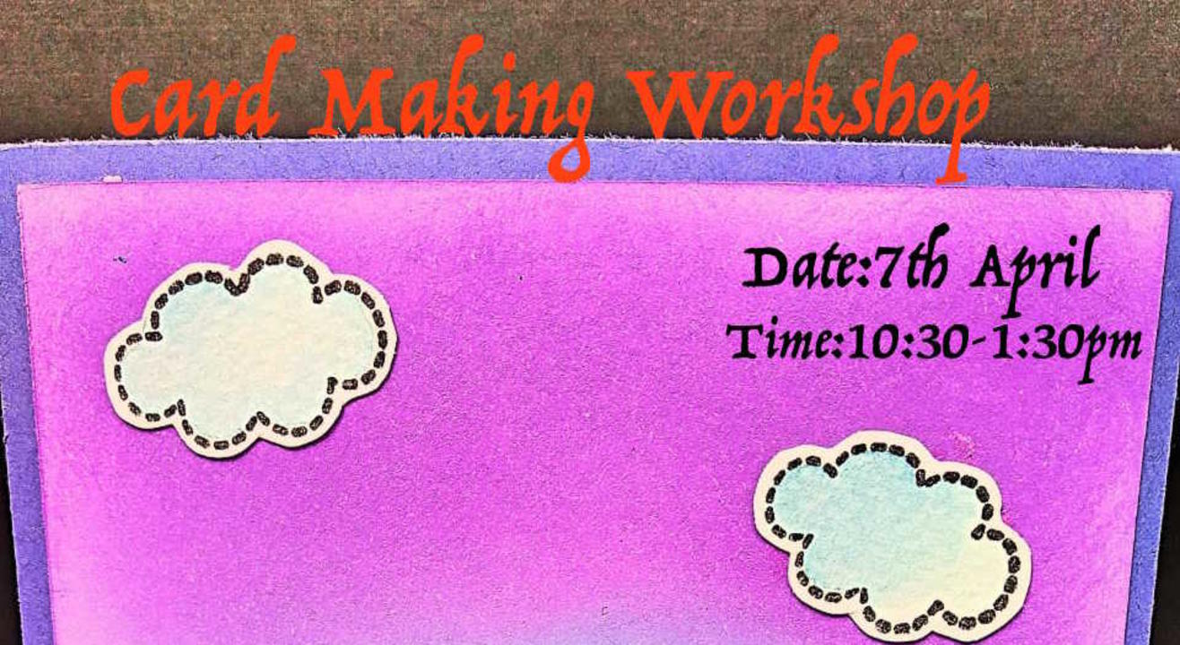 Card Making Workshop -ART BUZZAAR 2019