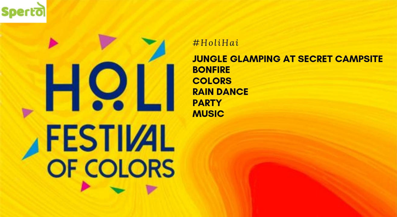 Holi Party at Glamp Camp by Sperto