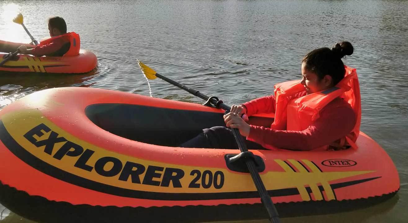 Floating Tent and adventure Activity Kurungwadi   99 Hikers