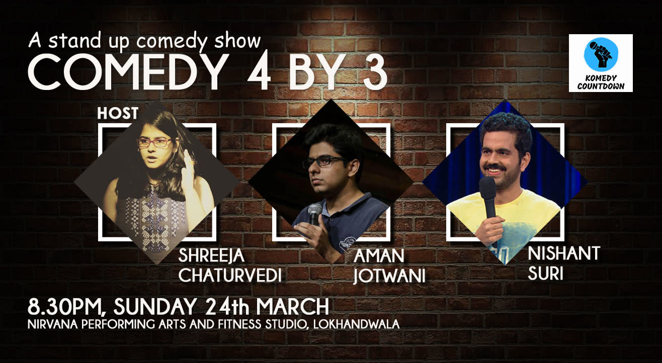 Comedy 4 by 3 ft. Aman Jotwani and Nishant Suri