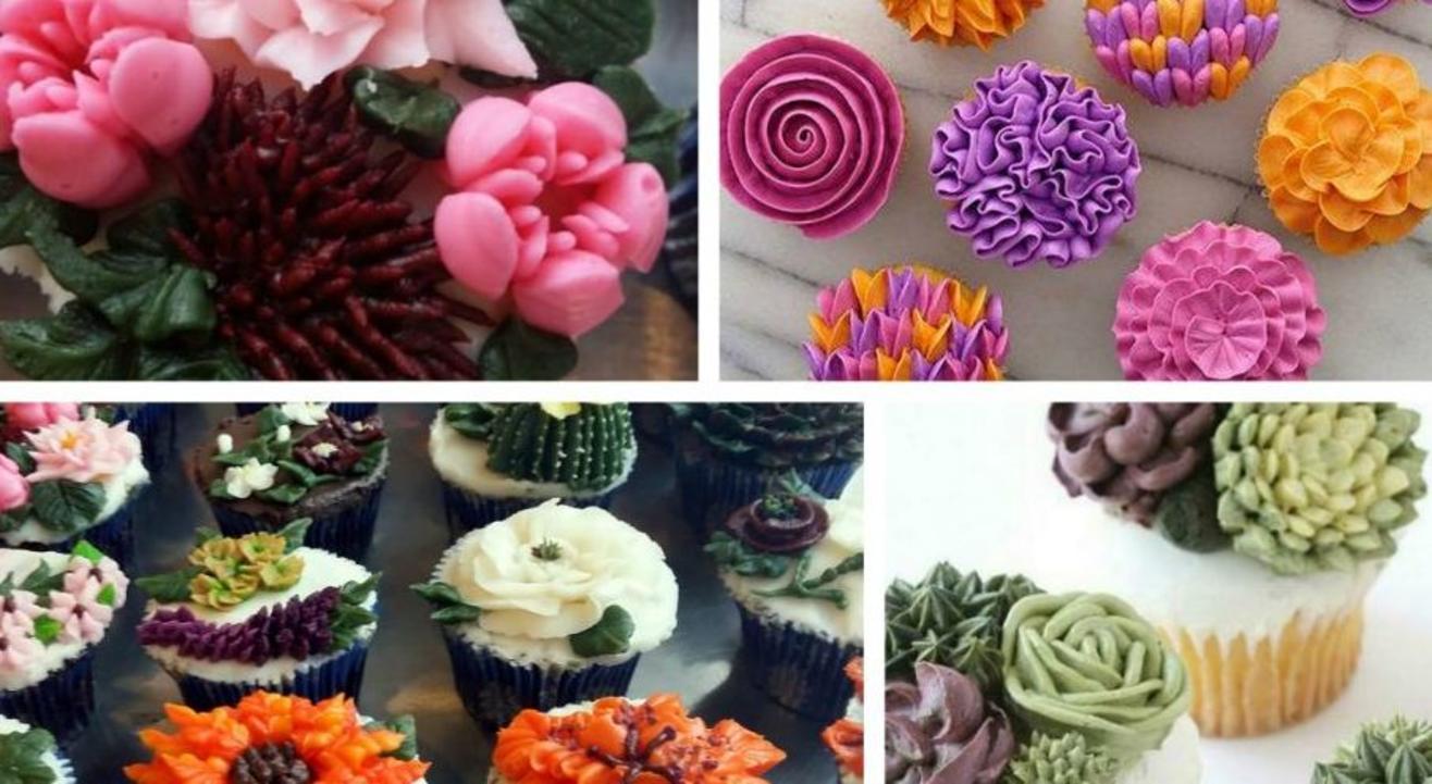 25 Buttercream Flowers