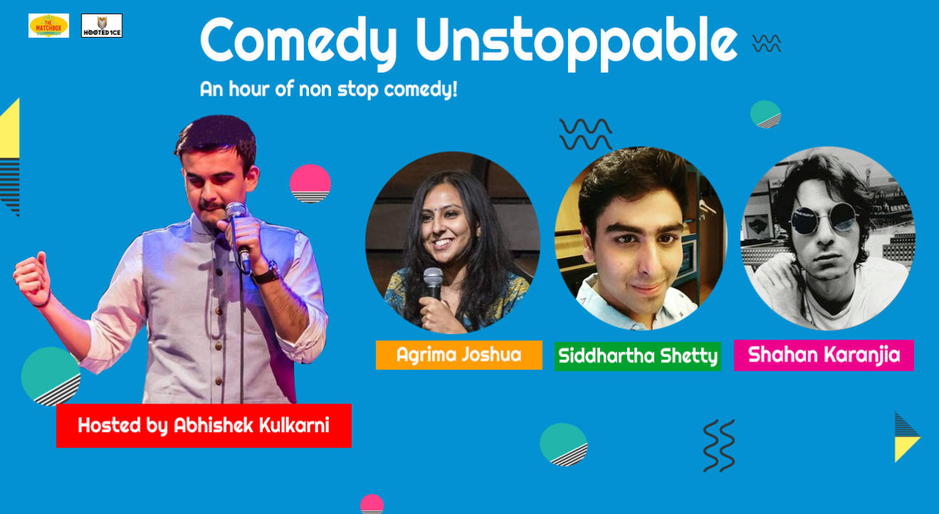 Comedy Unstoppable – An Hour of non  stop comedy.