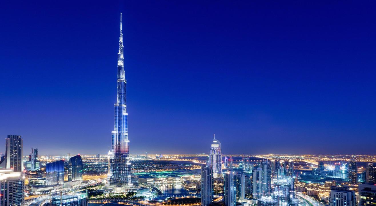 Burj Khalifa in Indian Colours