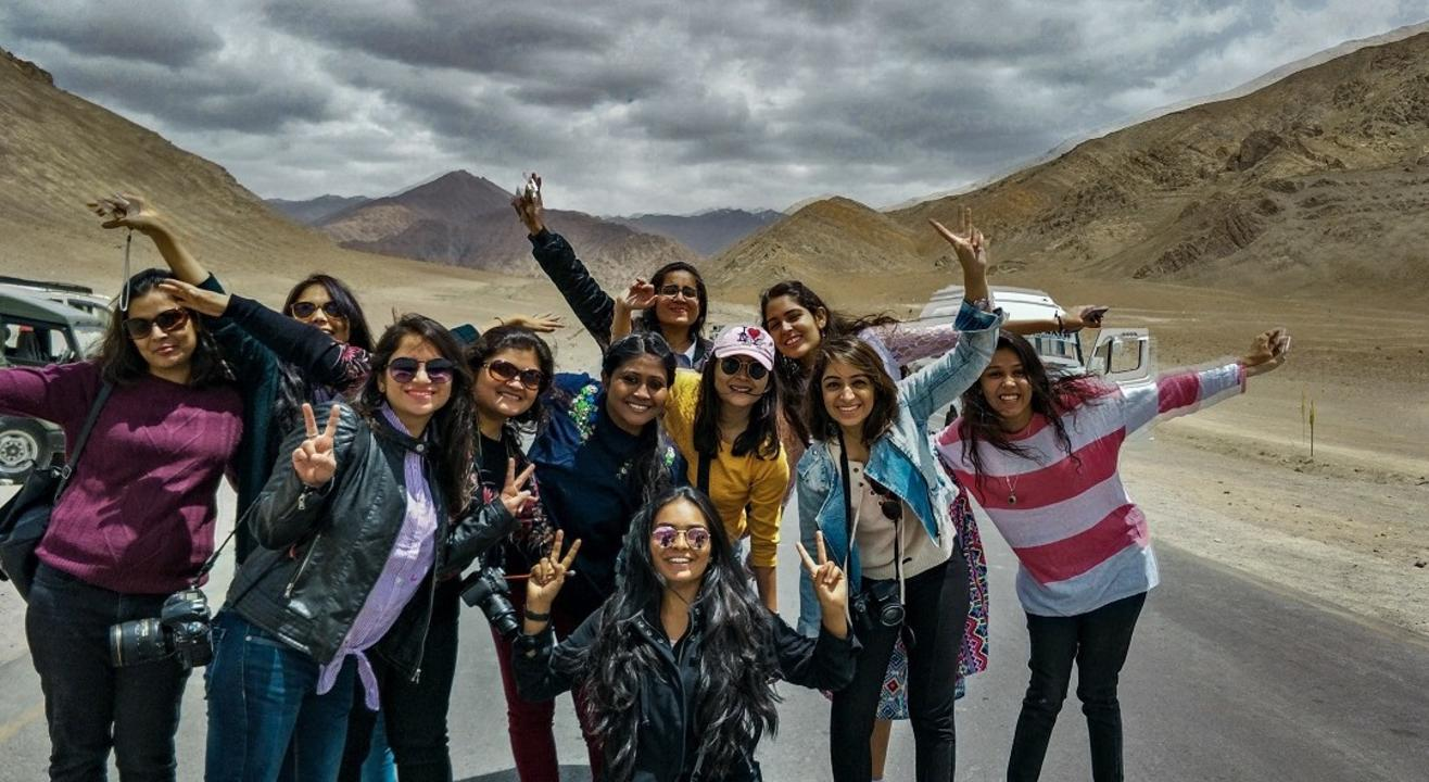 All Girls Trip to Leh | Justwravel