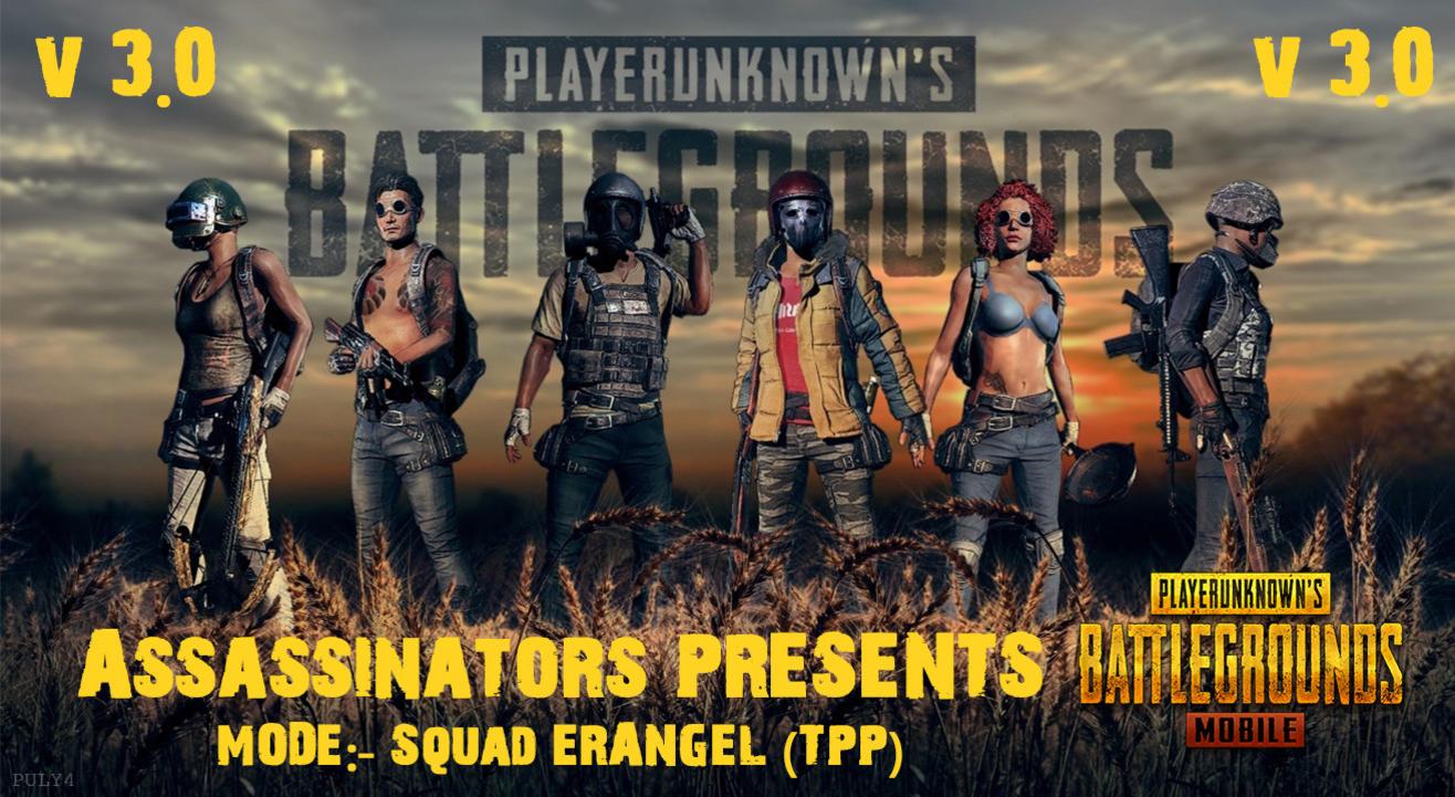 PUBG Tournament Squad Erangel