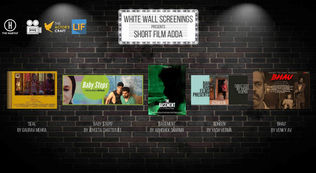 White Wall Screenings presents Short Film Adda