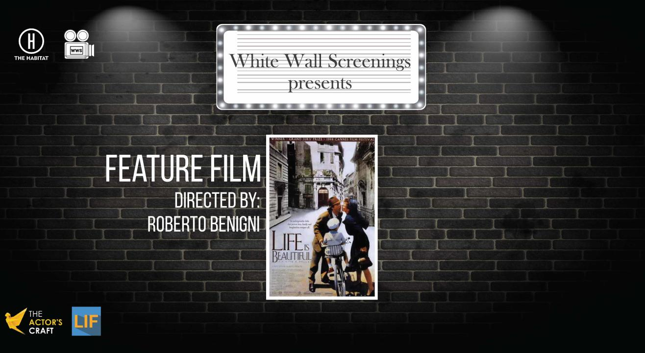 White Wall Screenings presents Feature Film