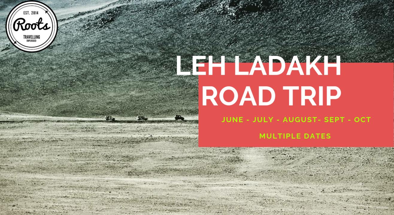 Ladakh Road Trip 5 Days