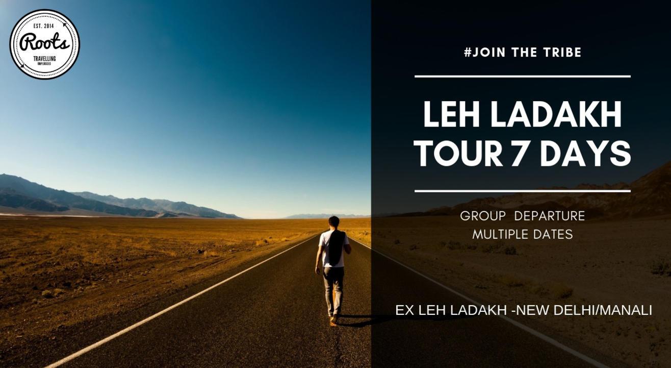 Leh Ladakh Road Trip 7 Days