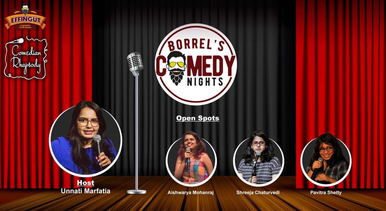 Borrel's Comedy Nights