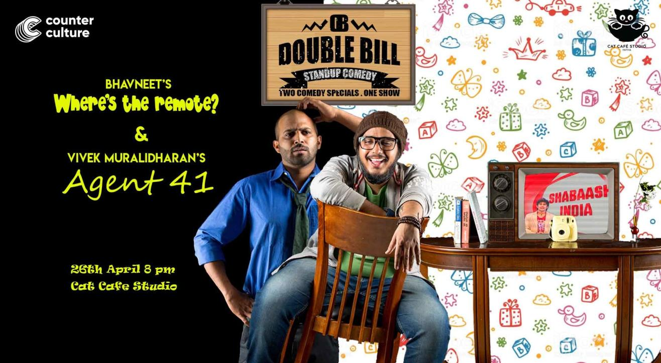 Double Bill Standup Comedy - Two Comedy Specials, One Show