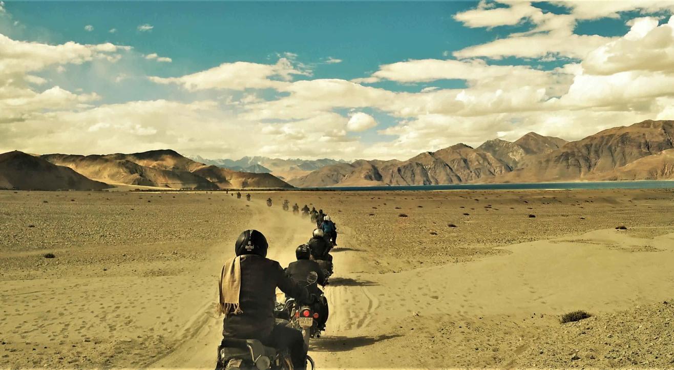 Leh Ladakh Bike Trip (Del-Sri)Hanle-Tsomoreri