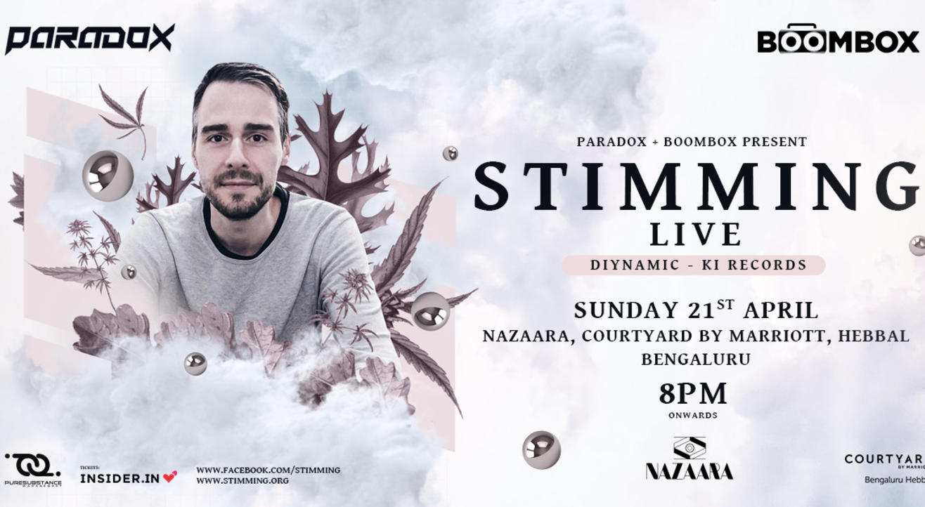 Stimming LIVE in Bangalore
