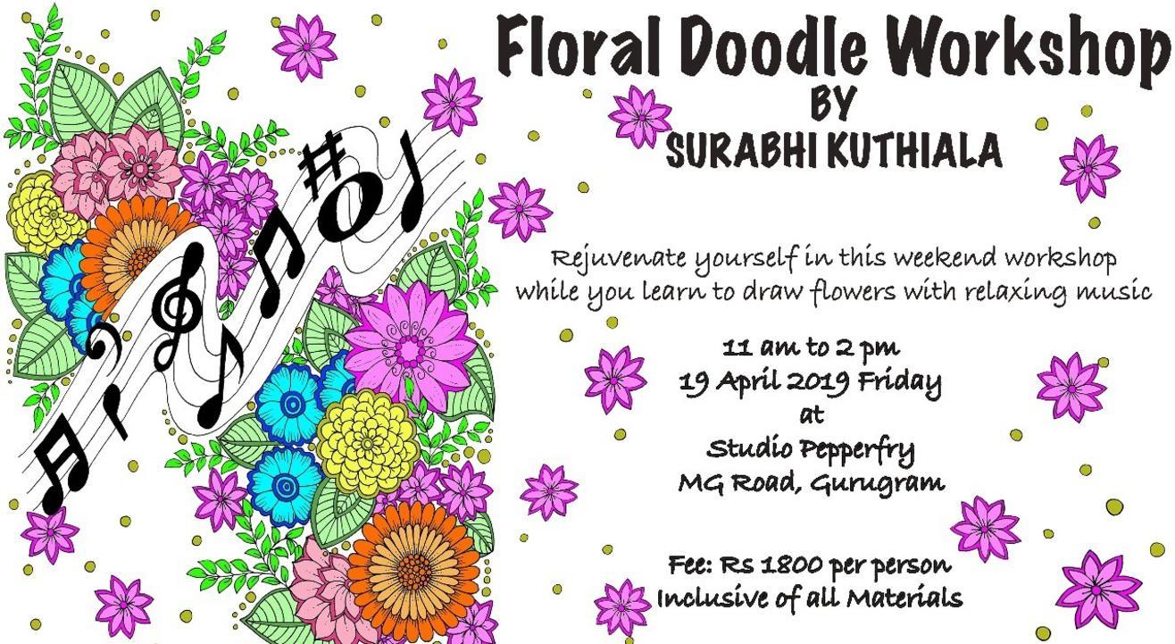 Floral Doodle Workshop