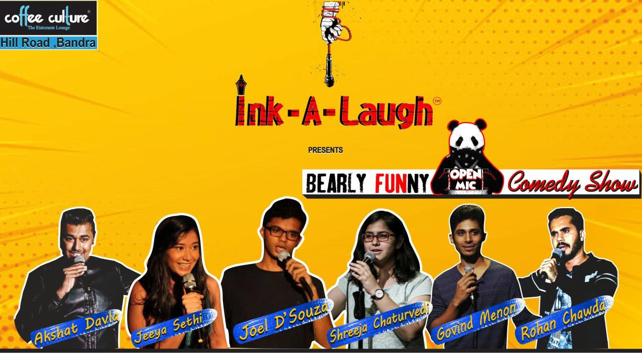 Ink-A-Laugh presents Bearly Funny