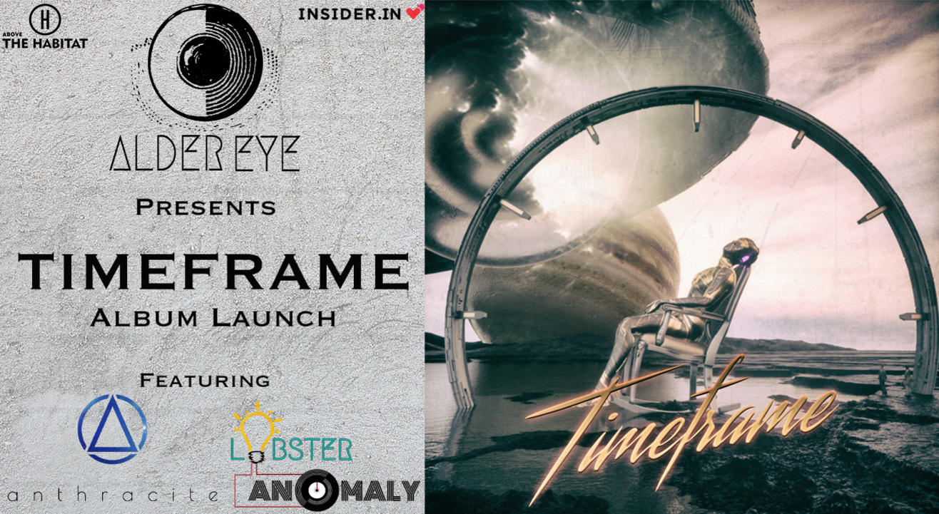 "Alder Eye presents - ""TIMEFRAME"" Album Launch"