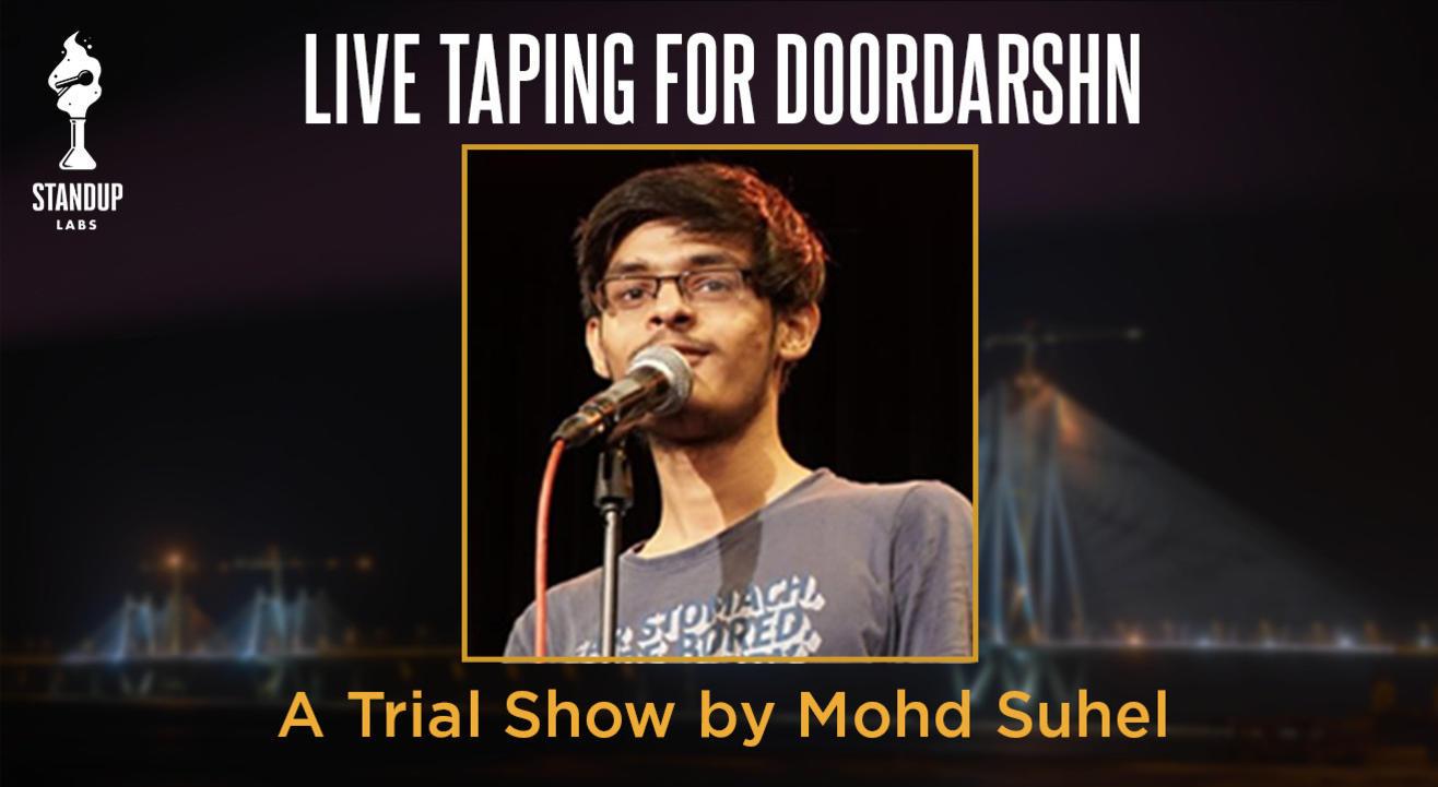 Mohd Suhel - Live Taping for Doordarshan