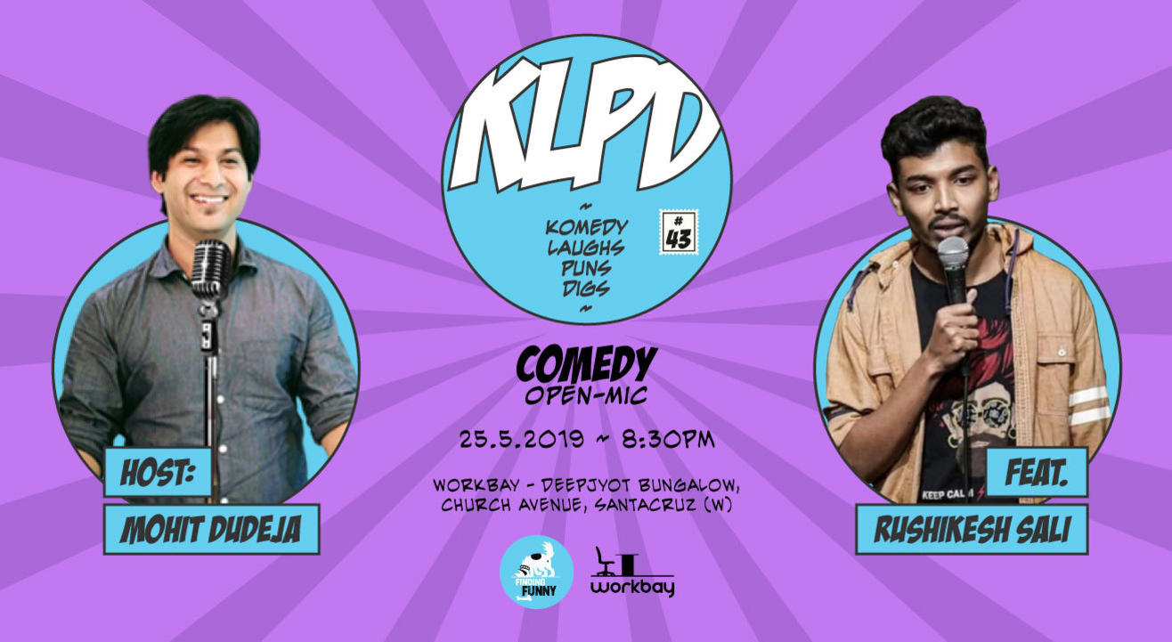 KLPD - Komedy, Laughs, Puns, Digs #43