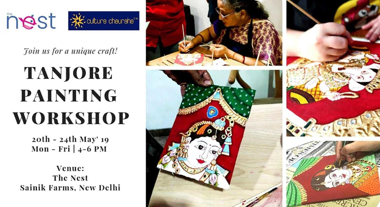 Tanjore Painting Workshop