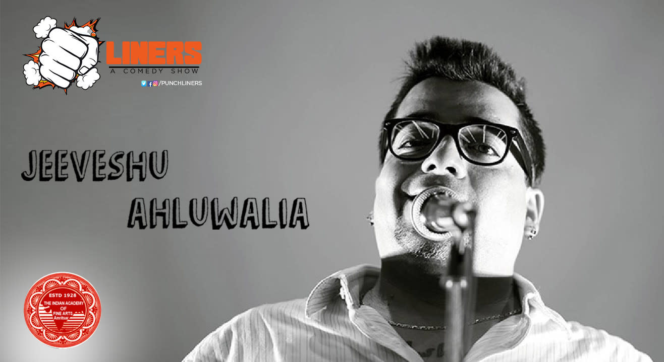 Punchliners: Stand Up Comedy Show feat. Jeeveshu Ahluwalia in Amritsar