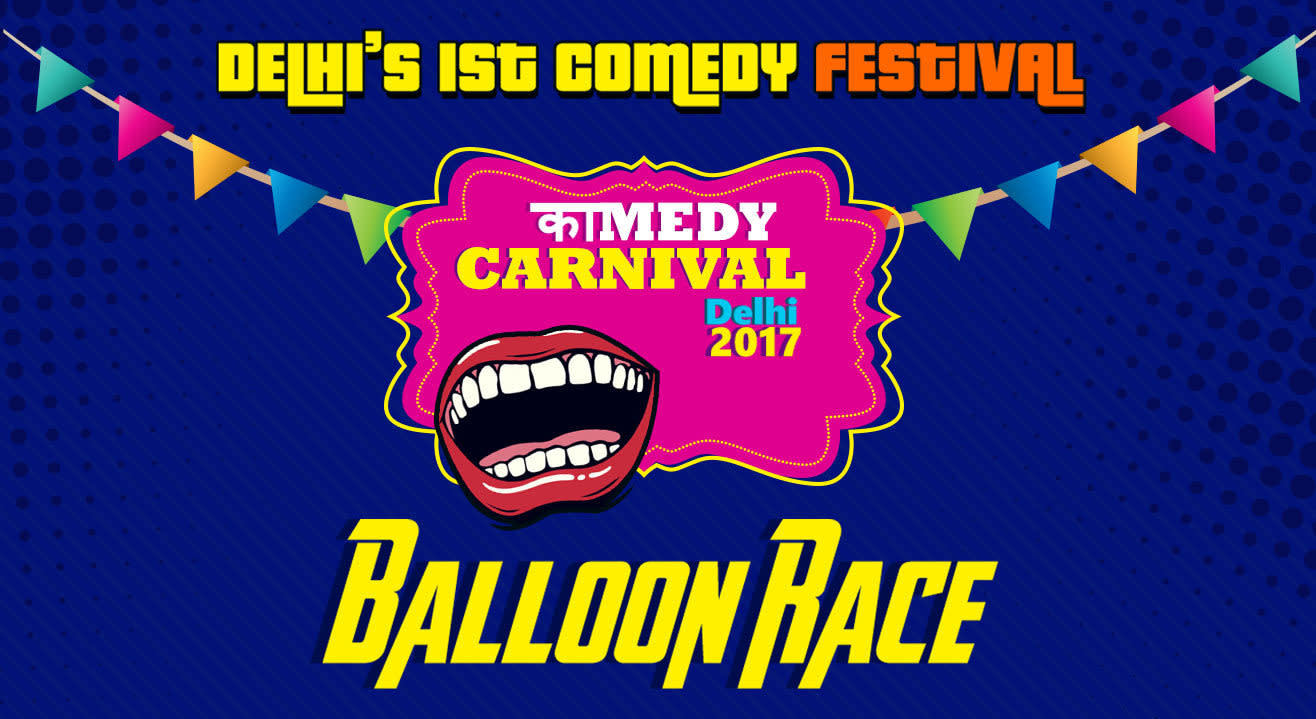 Kamedy Carnival Presents Balloon Race