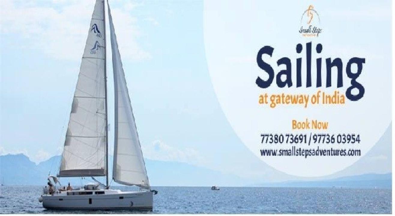 Sailing at gateway of India Mumbai