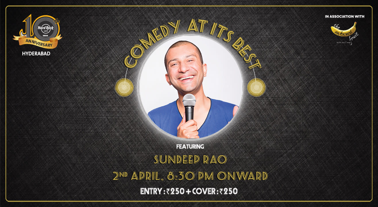 Comedy at Its Best feat. Sundeep Rao