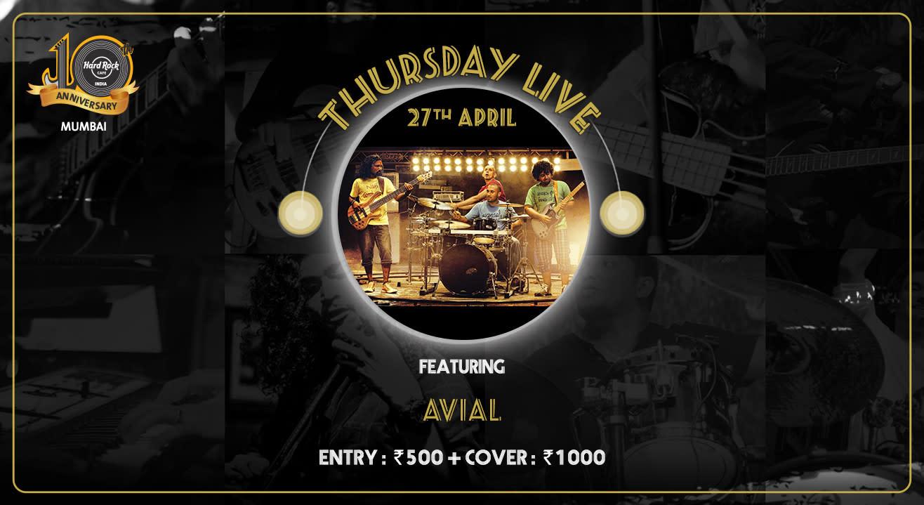 Avial - Thursday Live!