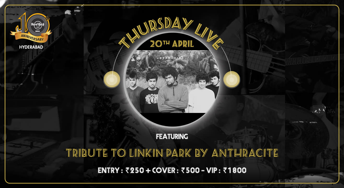 Tribute to Linkin Park by Anthracite - Thursday Live!