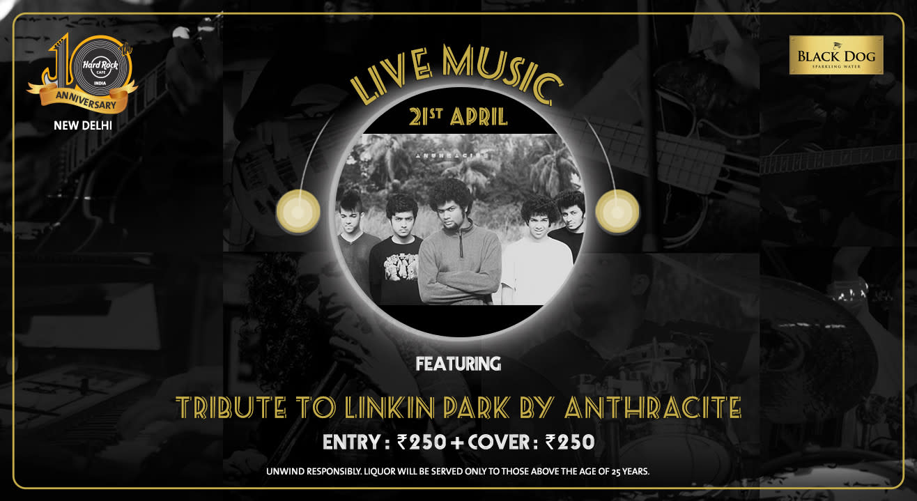 Tribute to Linkin Park by Anthracite Live!