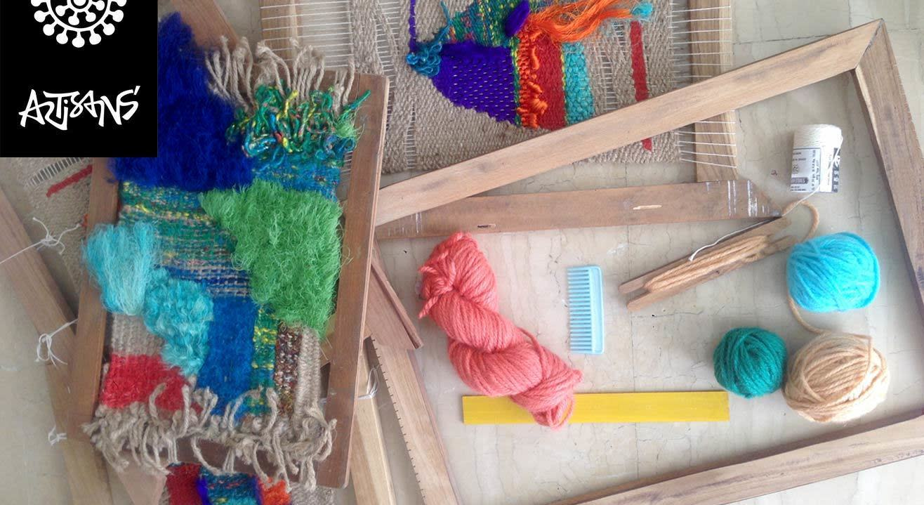 Introduction to Weaving – For Adults by Julie Kagti