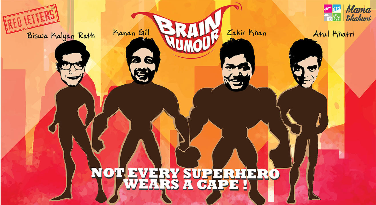 Brain Humour: Stand-up by Biswa Kalyan Rath, Kanan Gill, Zakir Khan and Atul Khatri